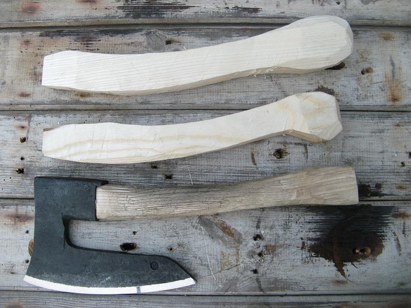 Hybrid axe handles