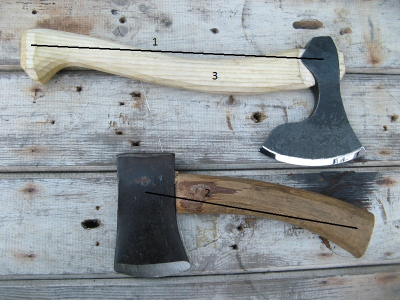 Axe handles part 2 - geometry
